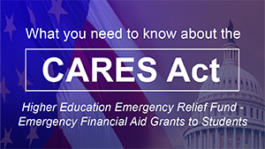 CARES ACT - Emergency Financial Aid Grants Icon