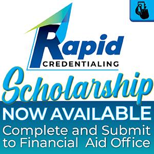 Rapid Credentialing Logo - Scholarship